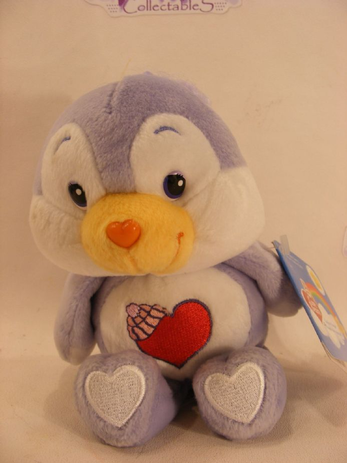 "BNWT 8"" 20TH ANNI COSYHEART PENGUIN CARE BEARS"
